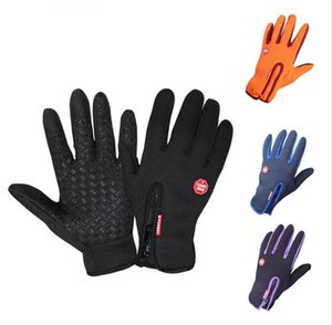 Windproof Outdoor Sports Skiing Touch Screen Glove Cycling Bicycle Gloves Mountaineering Military Motorcycle Racing Gloves S-XL WCW655