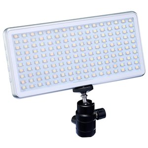 Bi-color Pocket LED Video Light Flat-panel photographic lamp Daylight OLED Screen Build-in Battery for mobile DSLR Camer