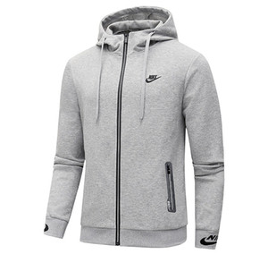 Wholesale Designer Men s Jackets Fashion Autumn Winter Hooded Sports Hoodies Brand Mens Casual Active Jacket Men Clothes Size Asian Size L XL