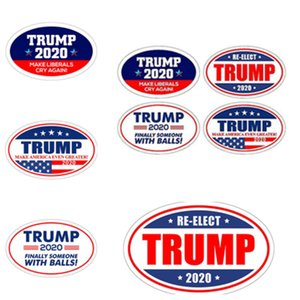 Wholesale trump stickers refrigerator stickers for 2020 us presidential election Keep Make America Great Decal for refrigerator stickers T2I5257