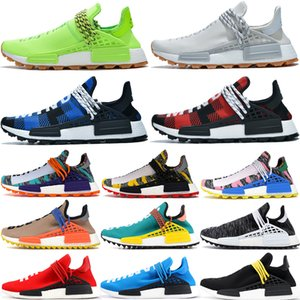 NMD Human Race know soul breath though mens running shoes Pharrell Williams noble ink Oreo species black scarlet men women designer sneakers