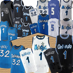 ingrosso pallacanestro hardaway-NBA Orlando Magic Penny Hardway Tracy McGrady Shaquille Uneal Retro Jersey Mohamed Bamba De Aaron Fox Marvin Baggley III Chris Basket Balissimo Jersey
