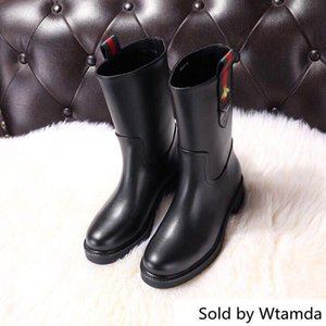 Wholesale Best Selling Leather Ankle Boots V390 Women Boot Riding Rain Boots Booties Sneakers High Heels Lolita Pumps Dress Shoes