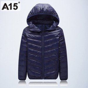 Wholesale A15 Children Outerwear Warm Coat Girl Jacket Spring Autumn Winter Hooded Toddler Teenage Jackets for Boys Age