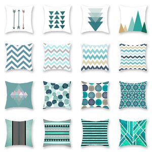 Wholesale arrow pillow covers for sale - Group buy Chevron Arrow Geometric Pillow Covers Cushion Cover Square printing Pillowcase Cushion Cover Home Office Sofa Car Decoration HH7