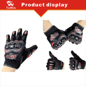 Wholesale New Unisex Gloves Outdoor Sports Full Finger Knight Riding Motorbike Motorcycle Bike Gloves Racing Men and Women Off road Hands Protection