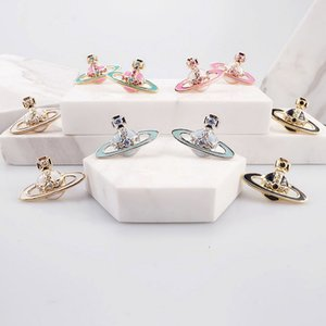 Wholesale Multicolor Rhinestone Satellite Stud Earring Women Orbit Earring Fashion Jewelry Accessories Gift for Love High Quality