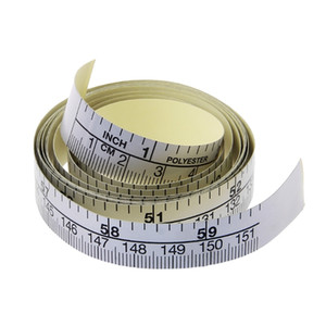Wholesale 151cm Self Adhesive Metric Measure Tape Ruler For Sewing Machine Sticker