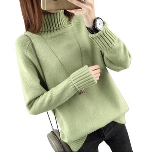 Autumn Winter Turtleneck Sweater Women 2017 Women Sweater And Pullover Female Jumper Tops on Sale