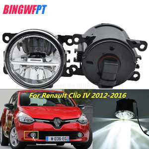 Wholesale 2PCS Super Bright LED Fog Lights white Car Styling Round Bumper For Renault Clio IV 2012-2016