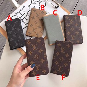 Wholesale 2019 new flip wallet leather case phone case for iphone Xs max XR X plus plus plus with card slot