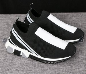 Wholesale 2020 Hot Sell Girl Man Women comfortable sports Socks shoes Lovers Elastic sneakers Casual shoes EUR