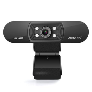 Wholesale Webcam P HDWeb Camera with Built in HD Microphone x p USB Plug n Play Web Cam Widescreen Video