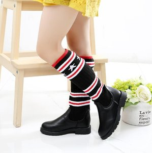 Wholesale Kids Knitte Sock Boots Winter Female Male Fashion Boots Girls Princess Boys Martin Child Casual Sport Shoes Hot Sneakers