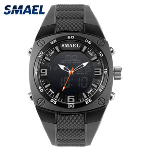 Wholesale cool black watches for men for sale - Group buy Cool Military Watches Men M Waterproof Shock Resisitatnt Silicone Band Fashion Casual Watches Quartz Army Watch for Men
