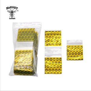 Wholesale Yellow Plastic Sealed Bag mm Large Smoke Bag