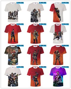 Hot 16style Apex Legends T-shirt Cospaly Battle Royale Vest Top to Game Men Women youth Harajuku Streetwear Tee Shirt Plus