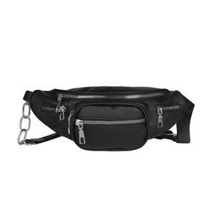 Wholesale Women Shoulder Waist Bags PU Leather Multifunction Belt Fanny Packs Crossbody Travel Chest Bags