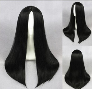 WIGLL 1103+++Chinese Long Black Wig Straight Costume Hair Cosplay Wig
