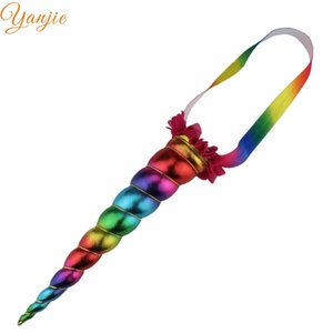 air accessories for kids 1PC Large Unicorn Headband Metallic Cosplay Festival Horse Horn Headband Trendy Girls Hair Accessories For Kids ...