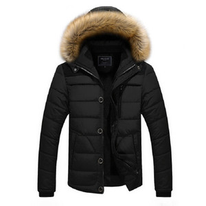 Wholesale Zollrfea Fashion Winter Jacket Men Warm Parka for Men Solid Thick Jackets and Coats Winter Parkas Snow Wear Clothes AD00111