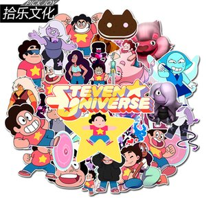 50 pcs lot Mixed Car Stickers Steven Universe For Laptop Skateboard Pad Bicycle Motorcycle PS4 Phone Luggage Decal Pvc Stickers