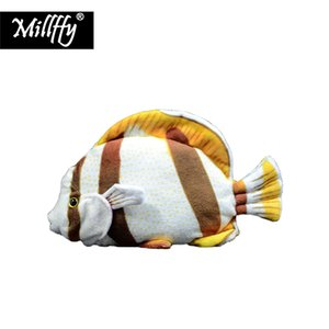 Wholesale Dropshipping New Arrival Stuffed Ocean Animal Realistic Lifelike Plush Toy Soft Toy Tropical Fish for Kids Children