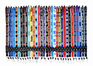 designer luxury cell phones Lanyards straps for football teams ID Card badge detachable phone neck lanyard keychain