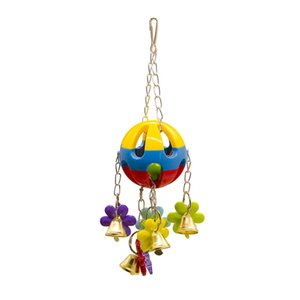 Wholesale Cage Elevated Station Bar Parts Middle And Small Size Parrot Articles Second Nibbling Toys Small Bell The Ball