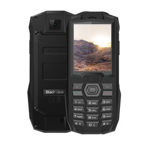 "Blackview BV1000 IP68 Waterproof Dustproof Shockproof 3-Anti Unlocked 2G GSM 2.4"" TFT 0.3MP Camera Dual Sim Card 3000mAh Rugged Mobile Phone"