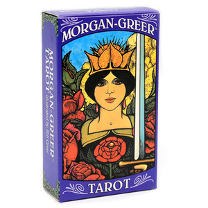 Morgan Greer Tarot Deck English Cards Bill F Greer Based on Rider-Waite Tarot 78-Card Deck Game Toy Divination