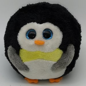 Wholesale Pyoopeo Ty Beanie Ballz quot m Black Penguin Plush Regular Soft Big eyed Stuffed Animal Bird Collection Doll Toy