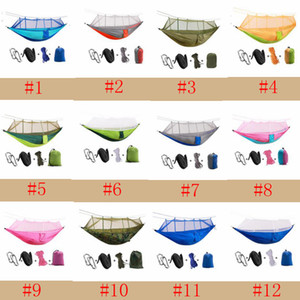 Wholesale Tree Tents Person Easy Carry Quick Automatic Opening Tent Hammock with Bed Nets Summer Outdoors Air Tents ZZA330