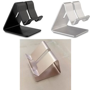Wholesale Tri fold Mobile Phone Holder Mini lazy phone holder chuck bracket general mobile phones navigation car holder stainless steel material