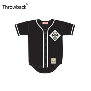 ingrosso colori brillanti-Throwback Coach Sam Kinison Aardvarks Baseball Jersey st Annual Rock N Jock Diamond Derby Taglia S XXXL Buona Qualit Color Black while while