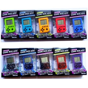 Wholesale 2019 Hot Selling Palmtop mini electronic game console tetris game nostalgia toy Tamagotchi Funny Kids Toys game console christmas gifts