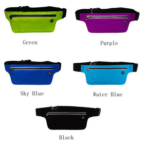 Outdoor Waist Pack Money Belt Sport bag Pouch Water Resistant Marathon Pocket Multifunction Running for accessory and Phone