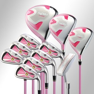 Wholesale New Women Golf clubs HONMA U100 Complete Set of Clubs Golf wood irons Putter No bag Golf set Clubs Graphite shaft