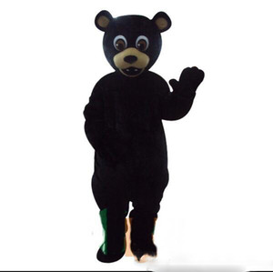 Professional custom Masha Bear Mascot Costume Cartoon Coffee Ursa Grizzly Character Mascot Clothes Christmas Halloween Party Fancy Dress
