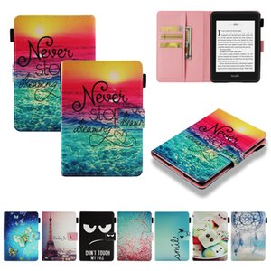 Wholesale Kindle Paperwhite Case 2018, Leather Tablet Cover for Amazon New Kindle Paperwhite 2018 10th Generation with Auto Wake Sleep
