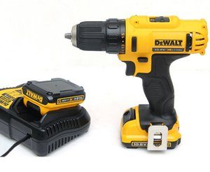Hight Quailty Dewalt DCD710DK2-A9 10.8v 2 x 2.0Ah Lithium charge electric drill driver with battery suit
