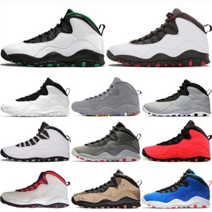 Wholesale designer Mens basketball shoes Seattle Cement s mens shoes Cool Grey I m Back chicage Powder blue Steel Grey trainers sports sneaker