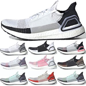 Wholesale 2019 Ultra Boost Men Women Running Shoes UltraBoost Laser Red Dark Pixel Black White Oreo Refract Designer Trainer Sport Sneakers