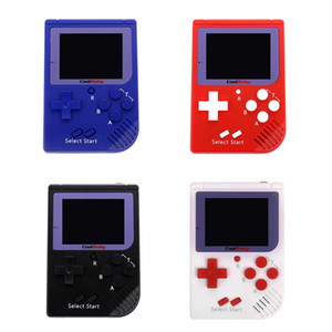 Wholesale games console free for sale - Group buy Hot Sale RS Portable Retro Mini Handheld Game Console bit Color LCD Game Player For FC Game Free DHL Shipping