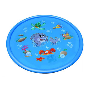 Children'S Sprinkler Cushion Outdoor Children'S Fish Dolphin Cartoon Sprinkler Toy