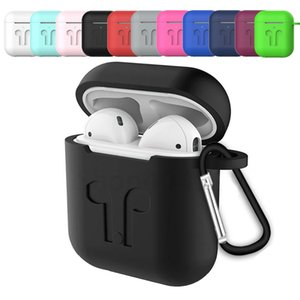 Wholesale Mini Soft Silicone Case For Apple Airpods Shockproof Cover For Apple AirPods Earphone Cases Ultra Thin Air Pods Protector Case