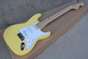 Wholesale doll services for sale - Group buy Factory custom guitar electric plant with yellow milk doll scalloped maple and micro channel offering personalized service