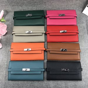 Wholesale New Hot Wristband Clutch luxury Wallet Women Many Departments Female Wallet Zipper Designer Ladies Purse Handbag Coin Cell Phone Pocket