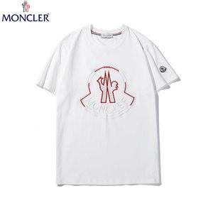 M Home Moncl France Print Men's T Shirts 19ss Summer Short Sleeve Men's Tee Shirts Tops