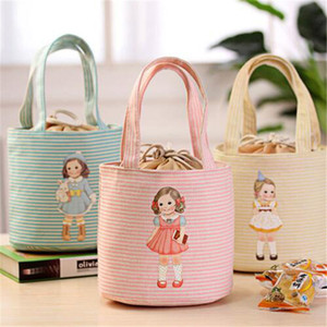 Wholesale cool bags resale online - Bag Tote Bag Thermal Portable Box Cooler Drawstring Printing Girls Lunch Insulated Sale Cute Hot New Oknsx Keffl Wdvck